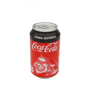 Canette Coca Cola Zéro
